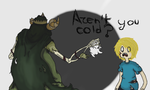 Adventure Time- Confrontation by nk3-ATR