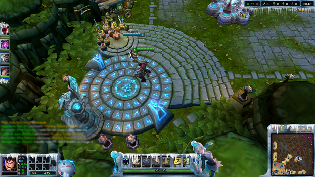 Free Overlay Orianna Winter League of legends by Xiialu