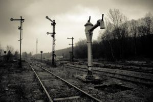 abandonned railstation by jbenoit