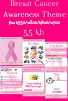 Breast Cancer Awareness Theme2 by The1Blur