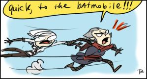 The Witcher 3, doodles 6 by Ayej