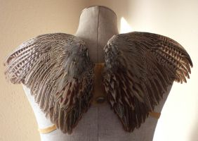 New wearable wings now on Etsy! by lupagreenwolf