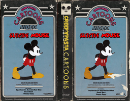 Suicide Mouse VHS Cover by MrAngryDog