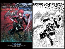 GameFan Bloodrayne PRINTS by RobDuenas