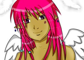 Animated Angel by Reita-love-ya