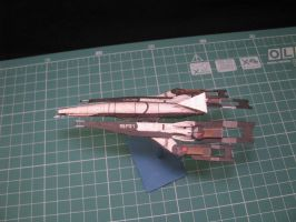 Micro Normandy SR1 papercraft by kotlesiu