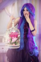 Flowers in a cage by Aster-Hime