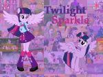 My Little Pony: Twilight Sparkle by Double-p1997