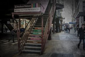 Early Spring, by the L Platform by pubculture