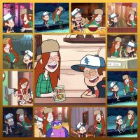Wendy and Dipper collage by GregoryFields
