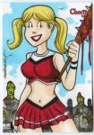 Cherry cheerleader vs the Zombies artist proof by mdavidct