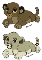 Cubs for DarkDragonBlood by Soufroma