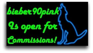 bieber90pink is open for commissions! by bieber90pink