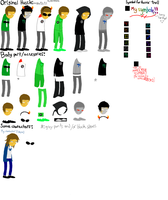 Homestuck Mod Hussie bases by gege1256072