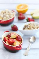 Fruits and granola by kupenska