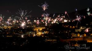 New years eve in Freiburg by BrianBarnhart
