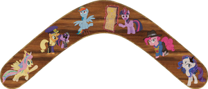 Testing Testing 1,2,3 Boomerang by Out-Buck-Pony