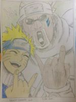 Naruto Uzumaki And Killer Bee by Magic-Yaoi-Mushroom