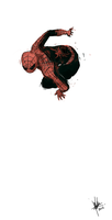 Doodle spidey by bloodcult