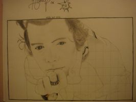 Harry Styles from One Direction by MicaArt2077