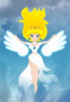Angelic peach by sandybelldf