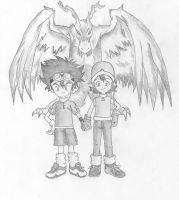 Digimon by Vialin8