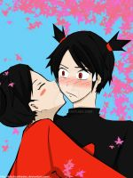 Pucca Love's Garu by Elvenrain