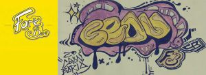 fort bee graffiti by SayaCEAN