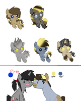 Umbreon138's Baby Foal Pony Adoptables: CLOSED by Blossomdash