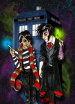Creature Feature Timelords by DoubleEdgedSword