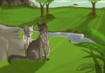 GrayXSilver - What love means - SPEEDPAINT by Espenfluss