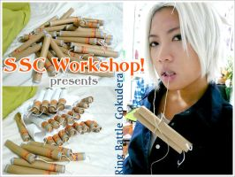 Tutorial: Gokudera dynamites by SoySauceCosplay