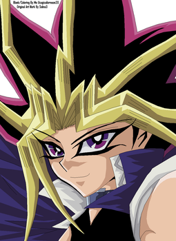 Pharaoh Atem 3 - Colored by usagisailormoon20