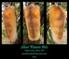 Maine Coon Cat Tail .:commission:. by MortaleRedWolf