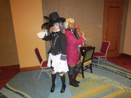 Ciel and Alois by Soynuts