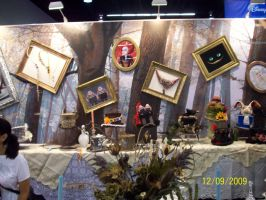D23: Alice in Wonderland booth by foxanime101