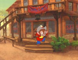 Fievel An American Tail Animation Production Cel by AnimationValley