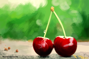 Cherry - Digital Fruits 3 by anime-master-96