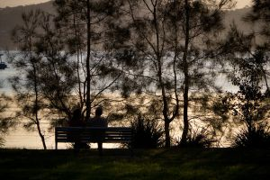 Couple on a Seat by Mike79Baker