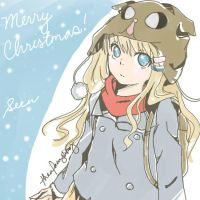 Merry Christmas to you all SeeU theme by winterEve24