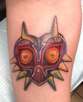 Majora's Mask Tattoo by Brownsbacker4evr