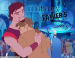 Sinbad/Jim Hawkins Father's Day by angeelous-dc