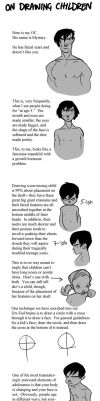 On Drawing Children by toerning
