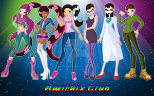 The Amichix Club by FlamesofSugar