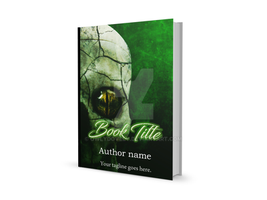 Toxic Green Premade Ebook cover by OwlyDovely