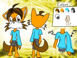 Para the brown fox Ref by X-Hello-Kitty-X