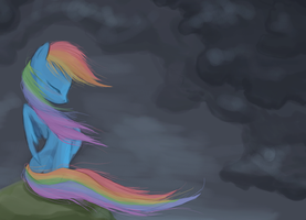 Rainbow Dash by Bedupolker
