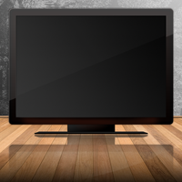 lcd tv by Matapalo
