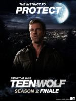 Chris Argent - Teen Wolf Season 2 Finale poster by FastMike