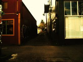 an alleyway by chanmanthechinaman